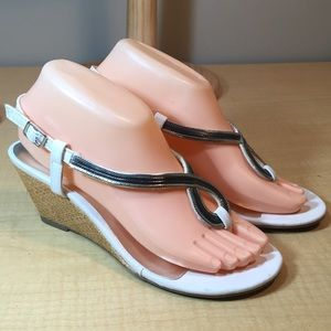 👄Bakers wedge heel sandal dressy shoe